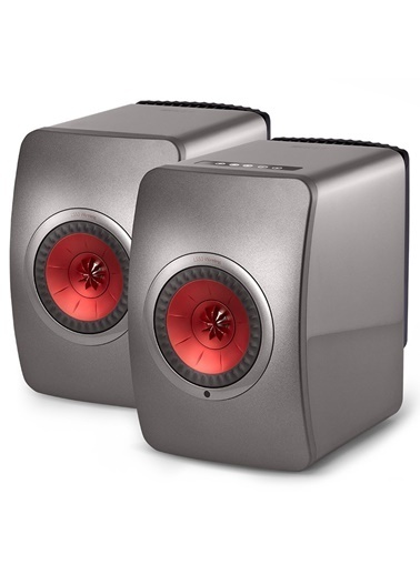 Kef Kef LS 50 Gri Wireless Bluetooth Hoparlör Seti Gri